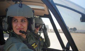 تعرف إلى الطيارتَين في الجيش اللبناني والرقيب المتفوقة في الميكانيك! (بالصور)