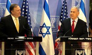 بومبيو نقل تحذيراً إسرائيليا من إقامة إيران مصنع صواريخ في لبنان