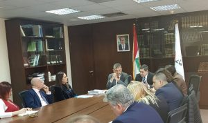 قيومجيان بحث مع منظمات الأمم المتحدة سبل التنسيق