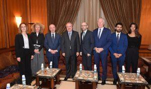 وفد نيابي فرنسي بمجلس النواب: نحن مع دعم وتطوير لبنان