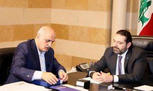 """الحريري يتابع تنفيذ إصلاحات """"سيدر"""".. واجتماع مع وزير المال"""