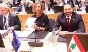 """تشكيل """"الوفد اللبناني"""" الى مؤتمر بروكسل…"""