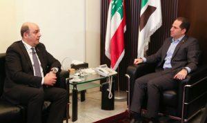 الجميل بحث مع السفير التركي العلاقات الثنائية