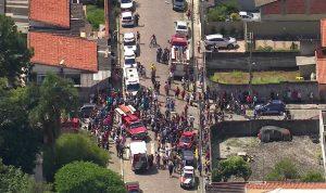مجزرة بمدرسة في البرازيل… مقتل أطفال بإطلاق نار! (بالفيديو)