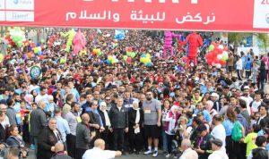 ماراثون صيدا… رسالة فرح إلى كل لبنان
