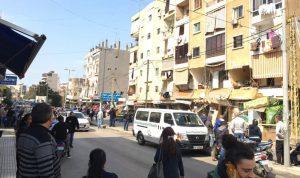 بالفيديو: لحظة انهيار جزء من مبنى في سن الفيل – النبعة