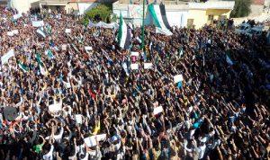 10 صور لا تمحى من الذاكرة عن الثورة السورية في ذكراها الثامنة