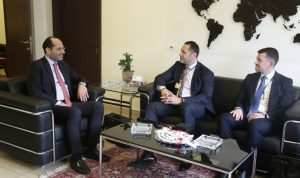 مراد: مذكرة تفاهم بين لبنان وبلغاريا