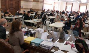"""انطلاق إمتحانات الترفع في نقابة محامي طرابلس…""""اهم شيء الانضباط"""""""