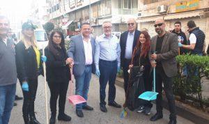 حملة نظافة في برج حمود