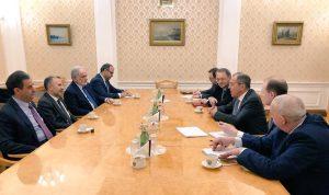 العلاقات اللبنانية الروسية بين باسيل ولافروف