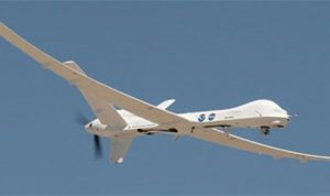 طائرة استطلاع إسرائيلية فوق مرجعيون