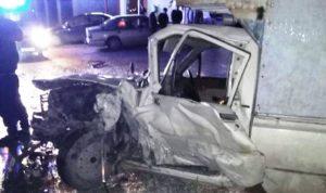 جريحان بحادث سير على طريق عام برقايل