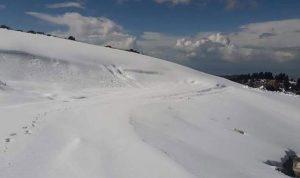 ثلج نيسان يُعيد إحياء موسم التزلج في عكار