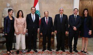 هذ ما تركزت عليه محادثات عون والوزير القبرصي