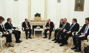 روسيا: لبنان مُطالب بالتواصل مع النظام في أزمة النازحين