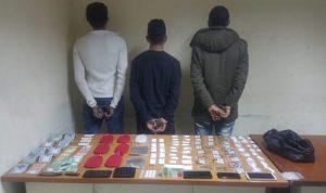 توقيف عدد من مروجي المخدرات في جبل لبنان