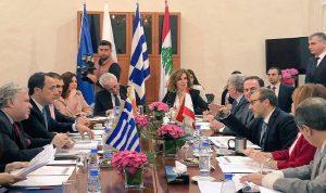 إطلاق المسار الثلاثي بين لبنان وقبرص واليونان!