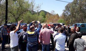 وقفة تضامنية ضد سد بسري: مشوع تدميري
