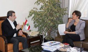 ابو فاعور بحث وسفيرة كندا التعاون الاقتصادي