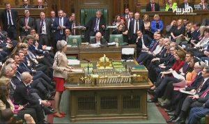 ماي تنجح في إقناع البرلمان بتأجيل بريكست