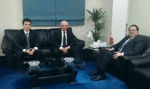 العلاقات الثنائية بين شقير وسفراء أرمينيا وكوريا الجنوبية وتونس