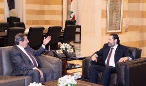 الفرزلي التقى الحريري: الغد اللبناني يسوده التفاؤل