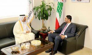 ملف النازحين بين الغريب وسفيري قطر والنمسا