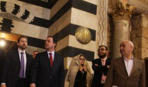 جولة لكرامي وكيدانيان على المواقع الأثرية في طرابلس