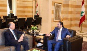 لقاء بين الحريري وريفي في السراي الحكومي