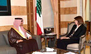 الحسن عرضت وبخاري للعلاقات اللبنانية-السعودية