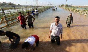 مليونا شخص في إيران بحاجة لمساعدة بسبب الفيضانات