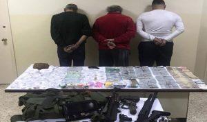 توقيف 3 من أخطر تجار المخدرات في بيروت