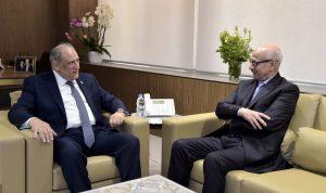 الجراح بحث مع سفير المغرب في تطوير العلاقات