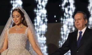 بالفيديو والصور: حفل زفاف فاخر لابنة جميل السيد
