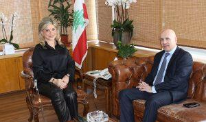 شدياق بحثت مع سفير الأرجنتين سبل تعزيز التعاون