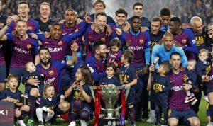 """""""برشلونة"""" يسحق """"بلباو"""" ويتوج بكأس الملك للمرة الـ31"""