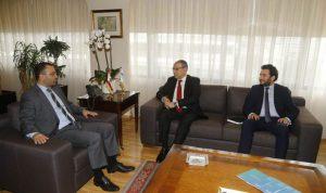 داوود بحث والسفير المصري في العلاقات الثنائية