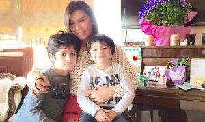 بالفيديو: نادين الراسي تحتفل مع كارل بعيد ميلاده