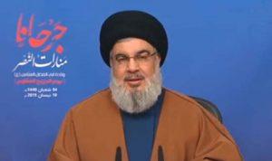نصرالله: لبنانيون بواشنطن يعملون على فرض عقوبات على حلفائنا