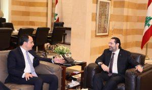 سبل تطوير العلاقات بين الحريري ووزير خارجية قبرص