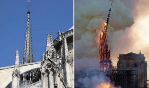 كاتدرائية نوتردام… جوهرة باريس التي أبكت العالم
