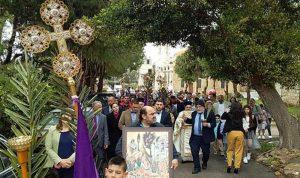 كنائس البترون الارثوذكسية احتفلت بالشعانين