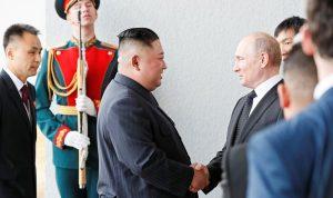 قمة تاريخية بين بوتين وكيم