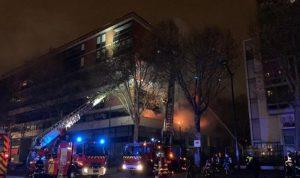 بالفيديو- انفجار ضخم يهز باريس