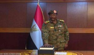 البرهان يعلن تشكيلة المجلس العسكري الانتقالي بالسودان