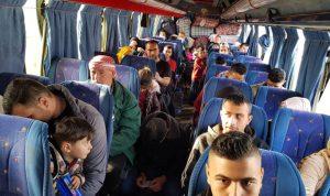 عودة دفعة جديدة من السوريين عبر معبر نصيب
