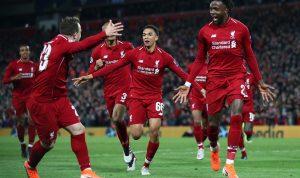 """ليفربول يصنع """"ريمونتادا تاريخية"""" ويبلغ نهائي دوري الأبطال"""
