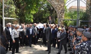 لبنان ودع عبد اللطيف الزين في مأتم رسمي وشعبي