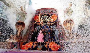 علاء الدين يتصدر إيرادات السينما الأميركية
